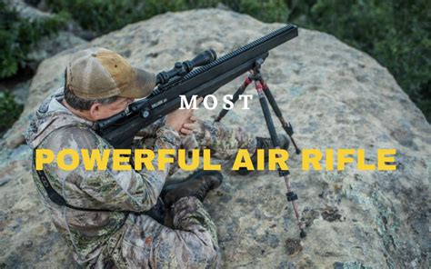 What Is The Most Powerful Air Rifle Available And 1970 Air Force M16 Rifle