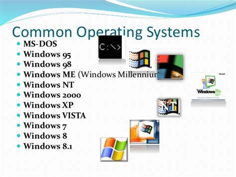 What Is The Sequence Of Windows Operating Systems