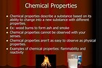What Is the Difference B N Chemical Property and Physical Property