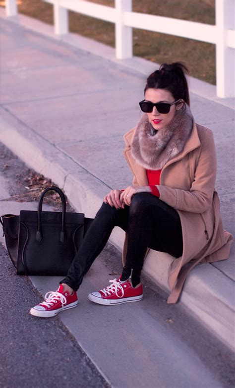 What To Wear With Your Red Converse And Who To Establish A Conversation With