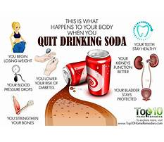 Best What happens after you stop drinking diet soda