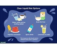 Best Whats a liquid diet