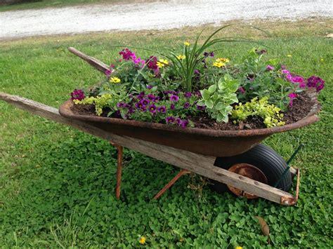 Wheelbarrow Landscaping Ideas