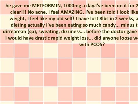 Where Can I Buy Metformin 2000 Mg Pcos Weight Loss