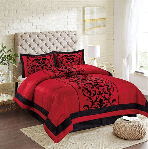 Where Can I Order Red Full Size Comforter Set