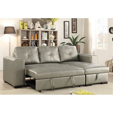 Where To Buy Leather Sectional With Pull Out Bed