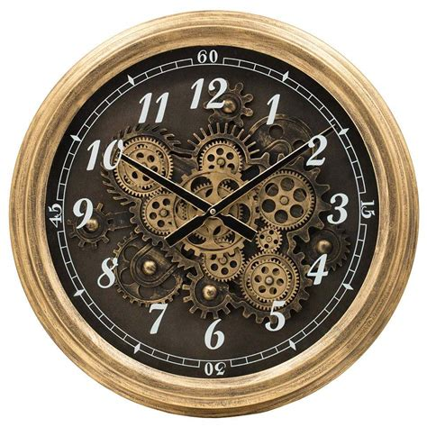 Where To Buy Wall Clocks With Exposed Gears