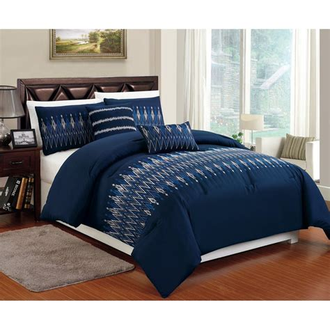 Where To Order Navy Blue And White Bed Sets