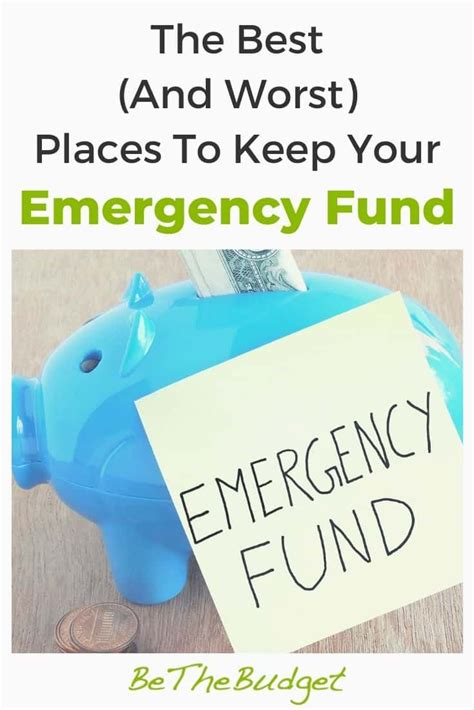 Where To Put Emergency Fund