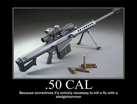 Where Can You Shoot A Barrett 50 Caliber Sniper Rifle And Glock 42