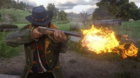 Where To Find Semi Auto Shotgun Rdr2 And 22 Wrf Ammo