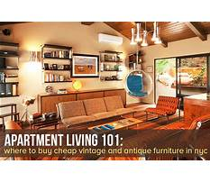 Best Where to buy furniture in nyc