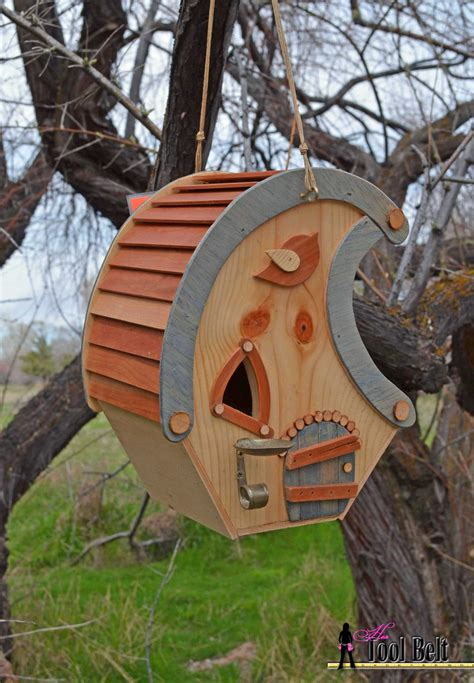 Whimsical Birdhouse Woodworking Plans