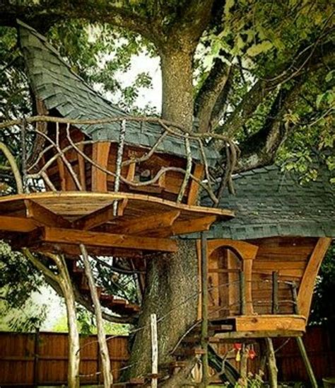 Whimsical Treehouse Plans