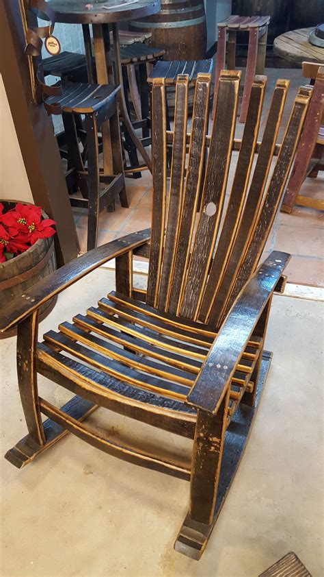 Whiskey Barrel Rocking Chair Plans