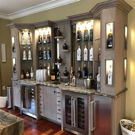 Whiskey Cabinet Ideas