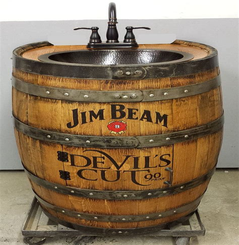 Whiskey-Barrel-Vanity-Diy