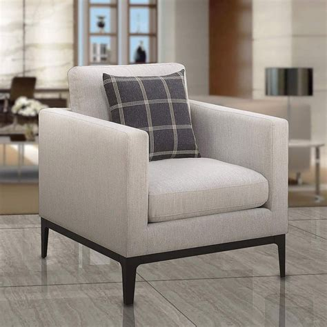White Accent Arm Chair