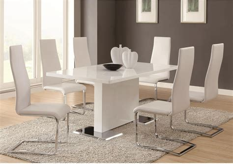 White Accent Chairs For Dining Table