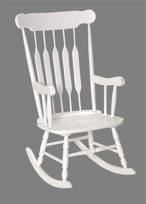 White Adult Rocking Chair