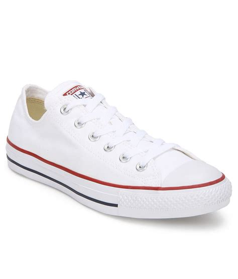 White Converse All Star Sneakers