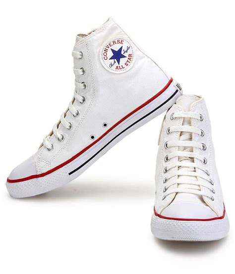 White Converse Sneakers Images