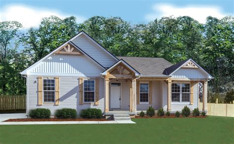White Farmhouse Plans 2200 Sqft