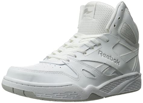 White High Top Reebok Sneakers