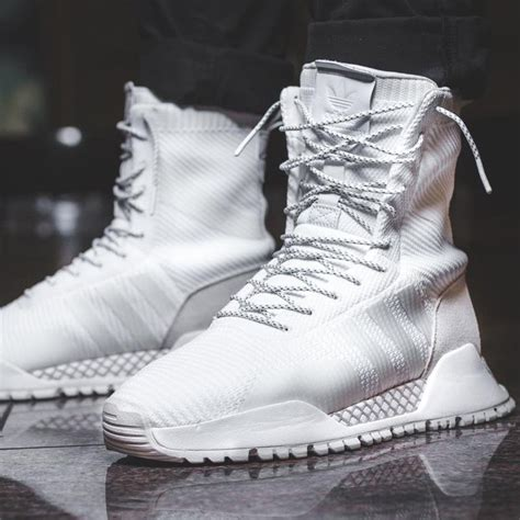 White High Top Sneakers Adidas