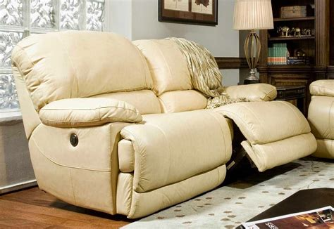 White Leather Couches Recliner