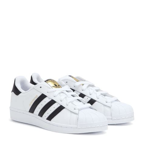 White Leather Sneakers Adidas