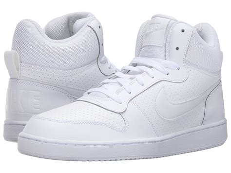 White Mid Top Sneakers Nike