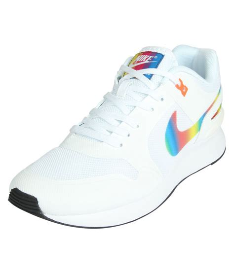 White Nike Sneakers Shoes