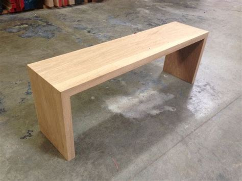 White Oak Bench Plans