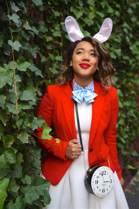 White Rabbit In Alice Diy Costume