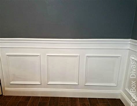 White Trim Picture Frame Diy
