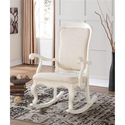 White Wood Chair For Sale