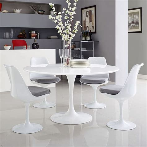 White dinner table.aspx Image
