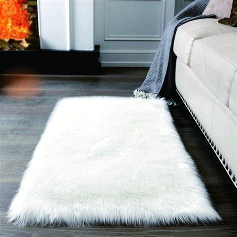 White Fluffy Rug White Fluffy Rug For Living Room