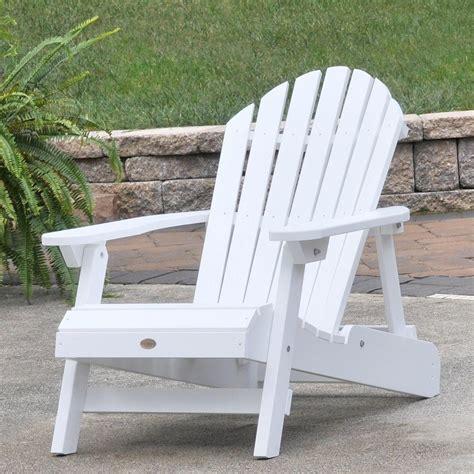 White-Adirondack-Chair-In-Yard