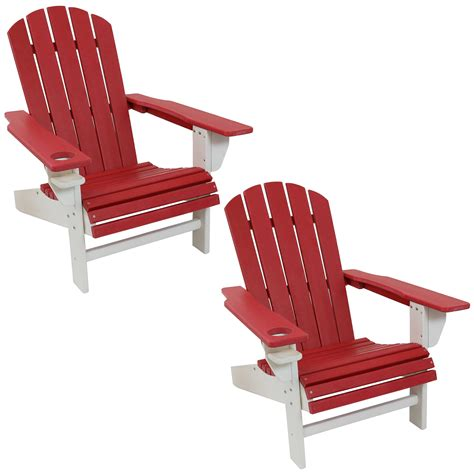 White-Adirondack-Chair-With-Drink