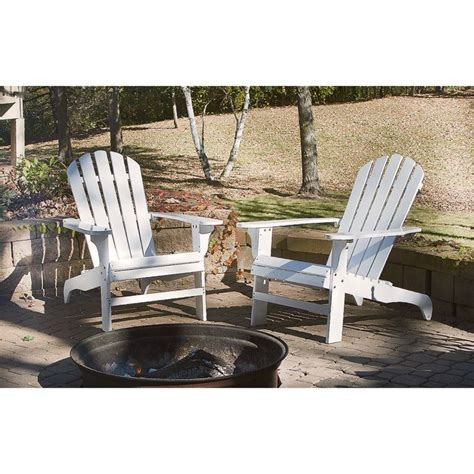 White-Adirondack-Chairs-With-Carving