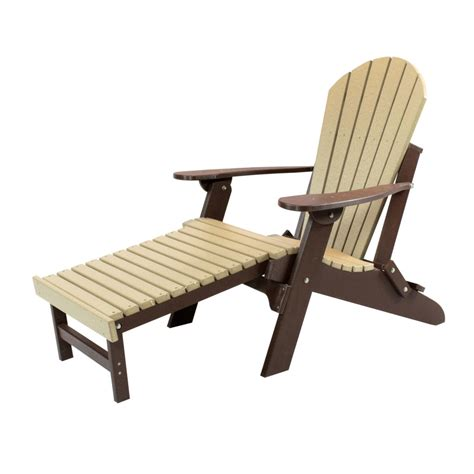 White-Adirondack-Chairs-With-Ottoman