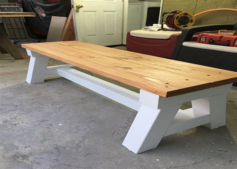 White-Bench-Plans