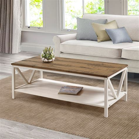White-Farmhouse-Coffee-Table-Canada