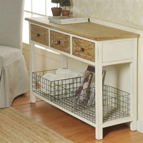 White-Farmhouse-Style-Console-Table