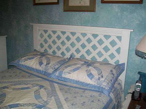 White-Headboard-Diy-Latice