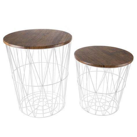 White-Metal-End-Table