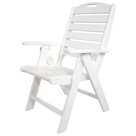 White-Outdoor-Folding-Chairs