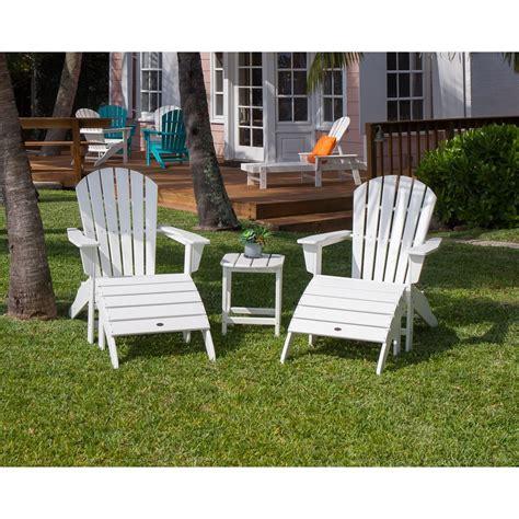 White-Polywood-Adirondack-Chairs